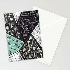 DARKSTAR GEOMETRIC Stationery Cards