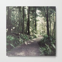 Every Journey Begins Within [1:1] Metal Print