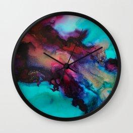 """Abstract """"Consumed"""" Art Wall Clock"""