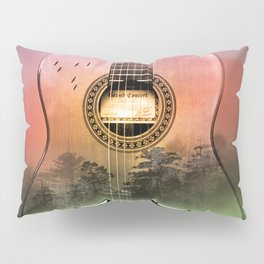 classic Spanish guitar  Pillow Sham