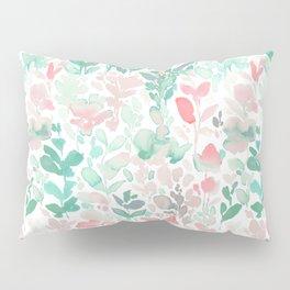 Flirt Mint Blush Pillow Sham
