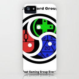 KG Discord Group Emblem iPhone Case