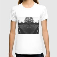 central park T-shirts featuring Central Park by Claudia Araujo