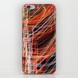 Blurred Light iPhone Skin