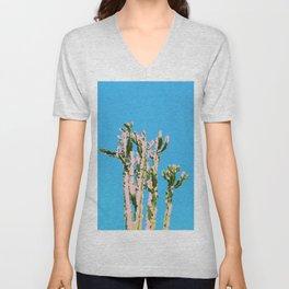 Cactus Beauty #cactus #society6 #decor #buyart Unisex V-Neck