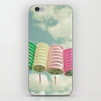 chinese iPhone & iPod Skins featuring Chinese Lanterns by Cassia Beck