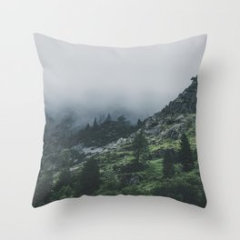 Why So Moody? Throw Pillow
