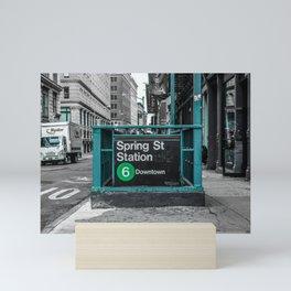 Spring Street Mini Art Print