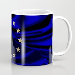 EU Silk Flag Coffee Mug