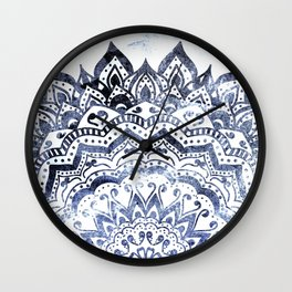BLUE ORION JEWEL MANDALA Wall Clock