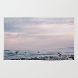 Sands Beach, Isla Vista, CA. Rug