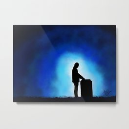 I Was So Alone... Metal Print