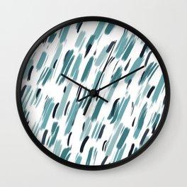 Rainy Daze Wall Clock