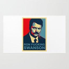 Ron F***ing Swanson Rug