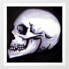 Bones III Art Print