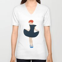 hayley williams V-neck T-shirts featuring Hayley W by IdaFreja