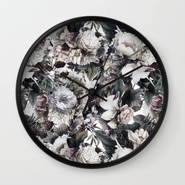 Forest of flowers Wall Clock