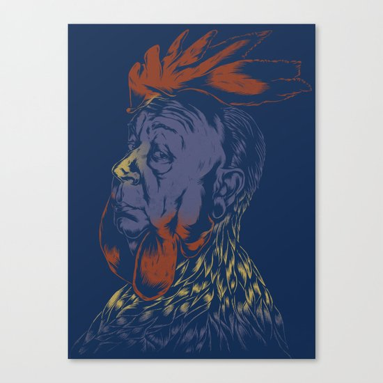 Hitch-Cock! Canvas Print