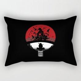 Uchiha Clan Silhouette Rectangular Pillow