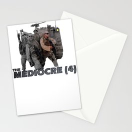 The Mediocre (4) Stationery Cards