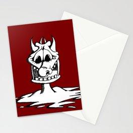 Cartoon Meltdown Stationery Cards