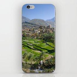 Bilad Sayt Village Oman iPhone Skin
