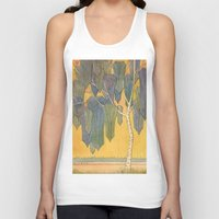 birch Tank Tops featuring Birch 3 by Eugene Frost