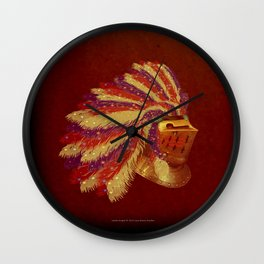 Indian Knight 141WP Wall Clock