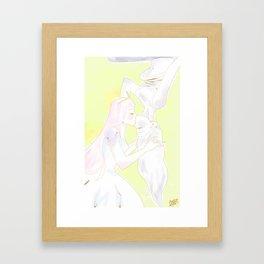 Bubbline Doodle Framed Art Print