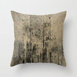 CITY VINTAGE Throw Pillow