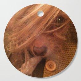 FARRAH MAiSEY (shelter pup) Cutting Board