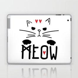 MEOW MEOW MEOW ON Laptop & iPad Skin