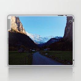 Swiss Alps Path Laptop & iPad Skin