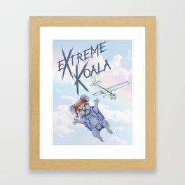 Extreme Koala- Skydiving Framed Art Print