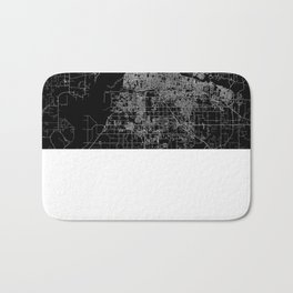 Memphis map Bath Mat