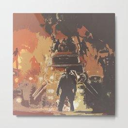 Mad Max Rockatansky 3 Metal Print
