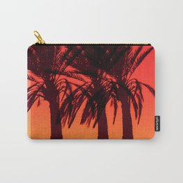 Three Palm tree Carry-All Pouch