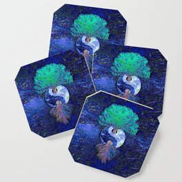 Tree of Life Yin Yang Earth Space Coaster