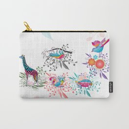 Spring Animals Jungle Safari Carry-All Pouch