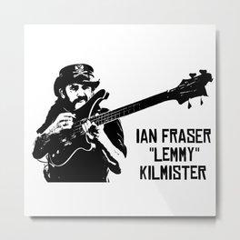 """IAN FRASER """"LEMMY"""" KILMISTER Metal Print"""