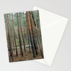 Forest & Car Stationery Cards