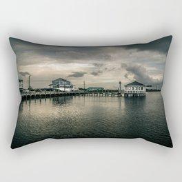 Moody Pier Rectangular Pillow