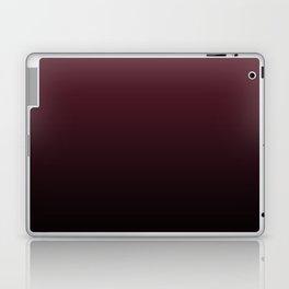 Burgundy Wine Ombre Gradient Laptop & iPad Skin