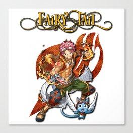 Fairy Tail Natsu and Happy Canvas Print