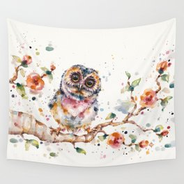 Yep, Cute Is My Middle Name (Owl) Wall Tapestry