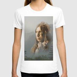 Peter Iron Shell, Sioux Indian T-shirt