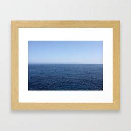 Seascape Framed Art Print