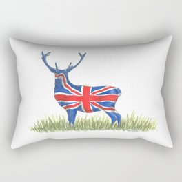 BRITISH Red Deer Rectangular Pillow