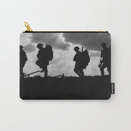 Soldier Silhouettes - Battle of Broodseinde Carry-All Pouch