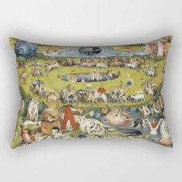 THE GARDEN OF EARTHLY DELIGHT - HEIRONYMUS BOSCH Rectangular Pillow